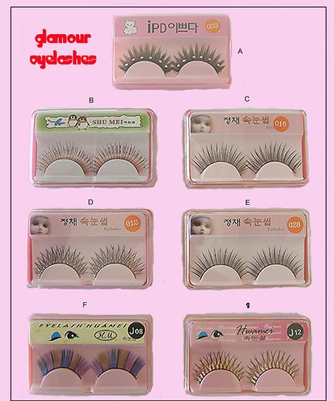 Glamour Eyelashes-Style G
