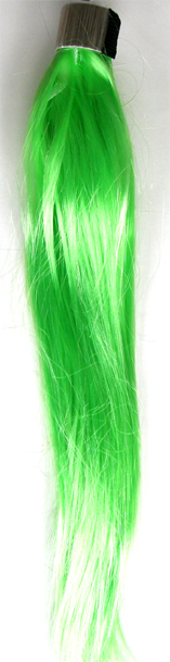 Party Hair Pieces-Synthetic Hair-Wrap Around your own hair-Green