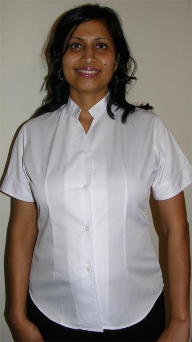 Beauty Uniform Design A-White-Large