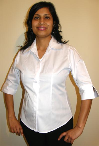 Beauty Uniform Design C-White-Large