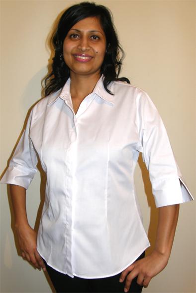 Beauty Uniform Design C-White-X-Large