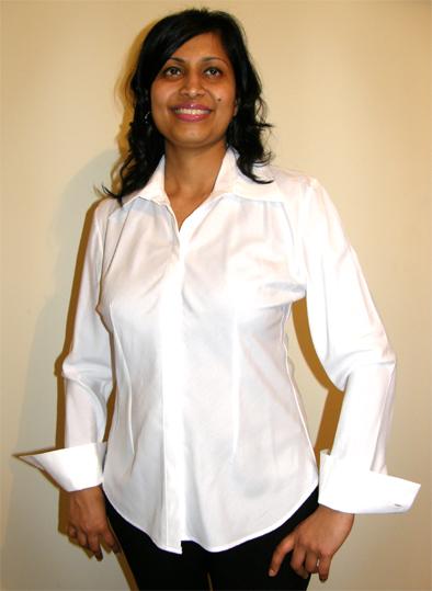 Beauty Uniform Design D-White-X-Large