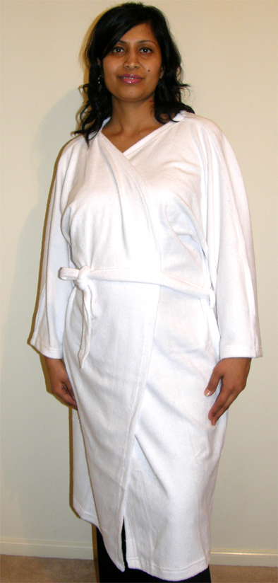 Spa Gown-Heavy Duty-Made of Terry Towel Material