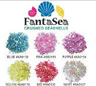Fantasea Crushed Sea Shells-Blue