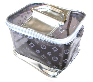 Vanity bag silver-large