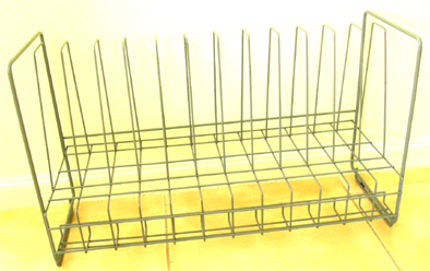 Metal Tint Tube Rack