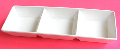 3 Compartment Mixing Bowl-made of durable plastic