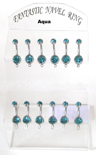 Body Jewellery-Aqua