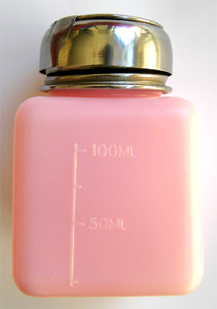 4 Oz Menda Type Liquid Dispensing Pump-Pink