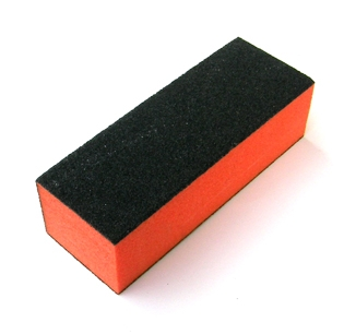 Nirvana Collection Black Block Buffer/Orange Core