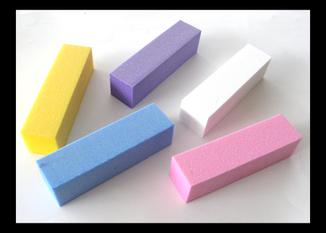 Nirvana Collection Coloured 4 sided Block Buffers-Pink