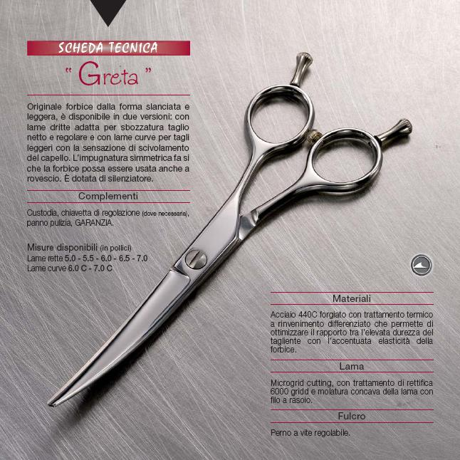 Pinin-Made in Italy-Casablanca Range-Greta Cutting Scissor