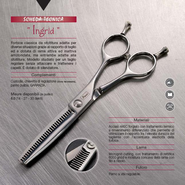 Pinin-Made in Italy-Casablanca Range-Ingrid Thinning Scissor-30 teeth