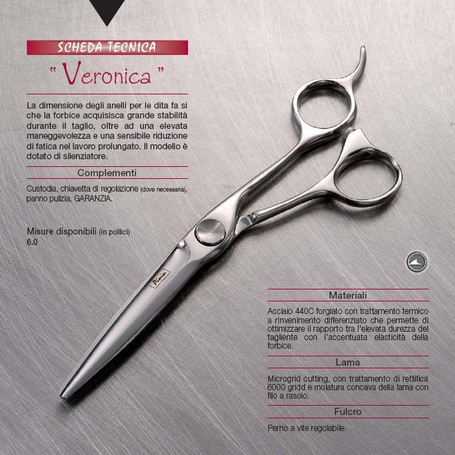 "Pinin-Made in Italy-Casablanca Range-Veronica Cutting Scissor-6.0"""