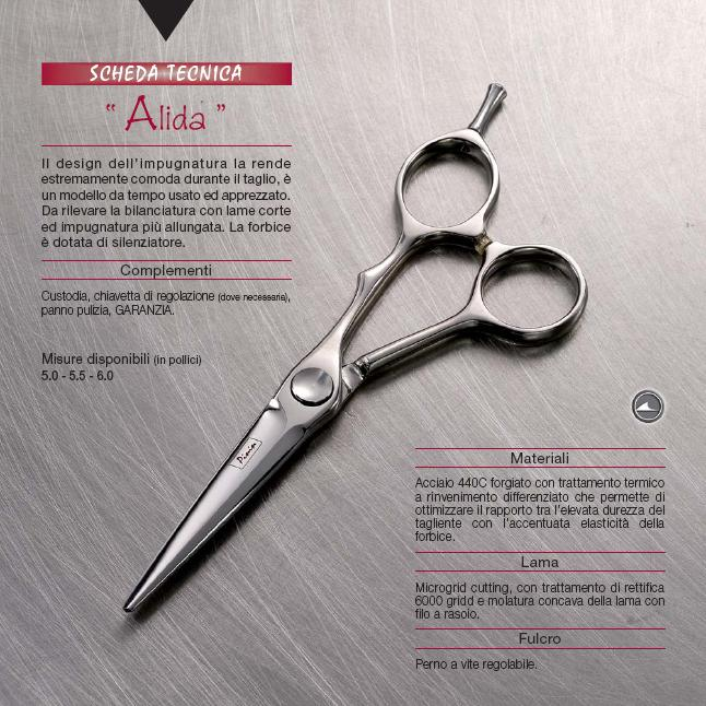 Pinin-Made in Italy-Casablanca Range-Alida Cutting Scissor-5.5""