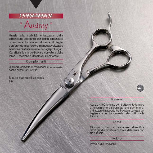 Pinin-Made in Italy-Casablanca Range-Audrey Cutting Scissor-6.0""