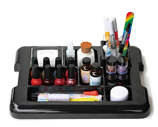 Nail Tech Organiser-Black (Products not included)