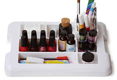 Nail Tech Organiser-White (Products not included)