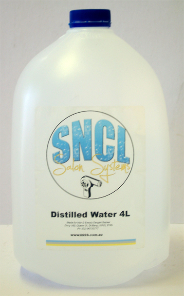 SNCL Salon Systems Distilled Water 5 Litres