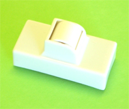 Small Head Roller Replacement Lid for 100ml Waxing Cartridges-Ideal for Waxing difficult areas such as upper lips and eyebrows