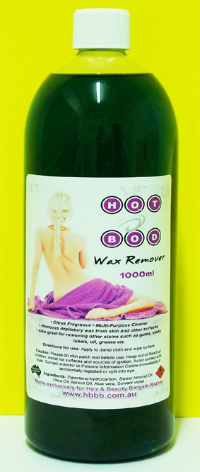 Hot Bod Wax Remover 1000ml