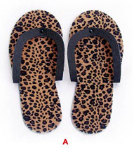 Heavy Duty Pedicure Slipper NSS-12-Cheetah Print-Price Per Pair