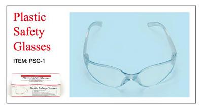 Plastic Safety Glasses