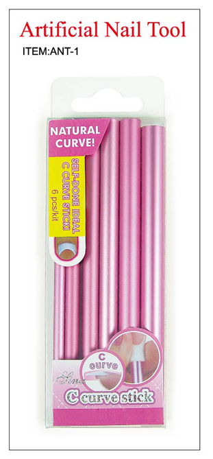 C Curve Sticks for Nails-6 pcs per pack