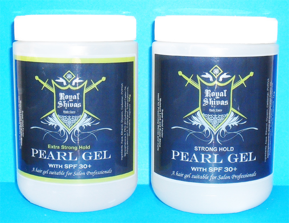 Royal Shivas Pearl Gel with SPF 30+ Extra Strong Hold-1 Kg