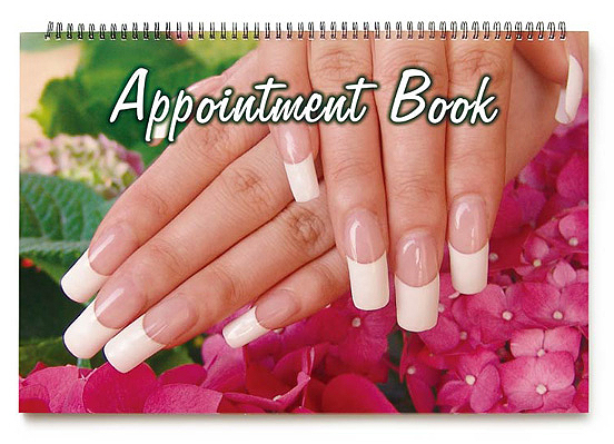 Appointment Book For Nail Techs-10 Columns 440x290mm 100 pages