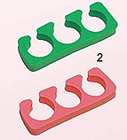 TS02-Nirvana Soft Toe Separators-Assorted colours-Sold in Pairs