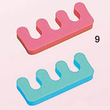 TS09-Nirvana Soft Toe Separators-Assorted colours-Sold in Pairs