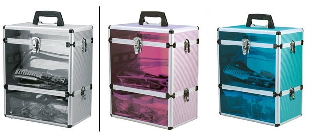 Window Aluminium Vertical Beauty Case