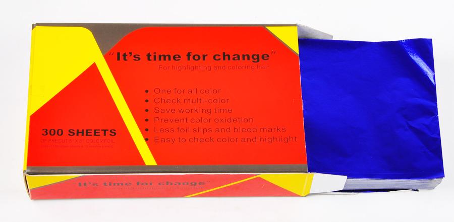 UFO Pre Cut Foils-300 sheets-Blue
