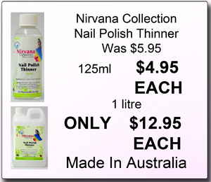 Nirvana Collection Nail Polish Thinner 125ml