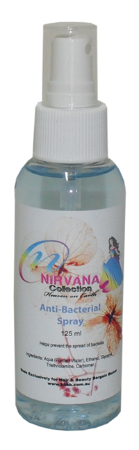 Nirvana Collection Anti-Bac Spray 125ml