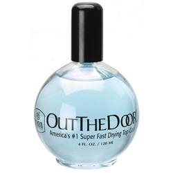 INM Out The Door Top Coat - America's #1 Super Fast Drying Top Coat 4Oz Refill