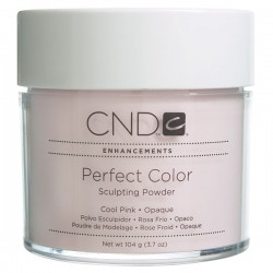 CND Perfect Color Powder Cool Pink– Opaque is three new skin toned powders that hide imperfections in the natural nail. Use alone or blend with other Perfect Color Powders for a unique custom color. 3.7 oz.