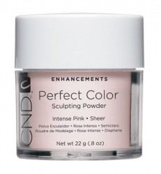 CREATIVE NAIL DESIGN Intense Pink - Sheer Perfect Color Powders are advanced sculpting powders that are easy to work with and provide long lasting toughness. Formulated with advanced color options. 0.8 oz. (22g)