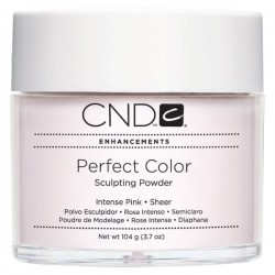 CND Intense Pink - Sheer Perfect Color Powders are advanced sculpting powders that are easy to work with and provide long lasting toughness. Formulated with advanced color options. 3.7 oz