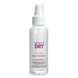 ORLY Spritz Dry is a non-aerosol spray that dries nail polish instantly. 4 oz.