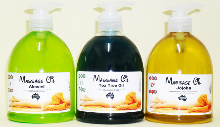 Hot Bod Massage Oil 500ml Pump Pack-Jojoba