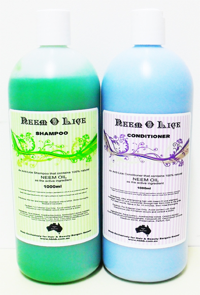 Neem-O-Lice Conditioner-Anti Lice conditioner that contains the 100% Natural Ingredient NEEM-very effective and Natural!! 1000ml