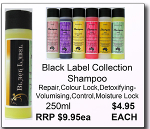 Black Label Collection-Shampoo-Volumising-250ml